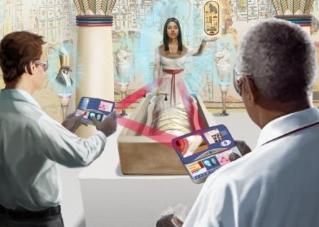 Virtuelles Museum © Siemens