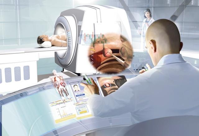 Operation per Joystick © Siemens